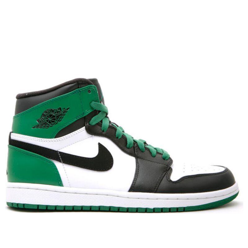 Air Jordan 1 Retro High 'Boston Celtics' White/Black-Varsity Green 籃球鞋/運動鞋 (332550-101) 海外預訂