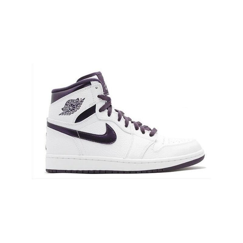 Air Jordan 1 Retro High 'Grand Purple' White/Grand Purple 籃球鞋/運動鞋 (332550-151) 海外預訂