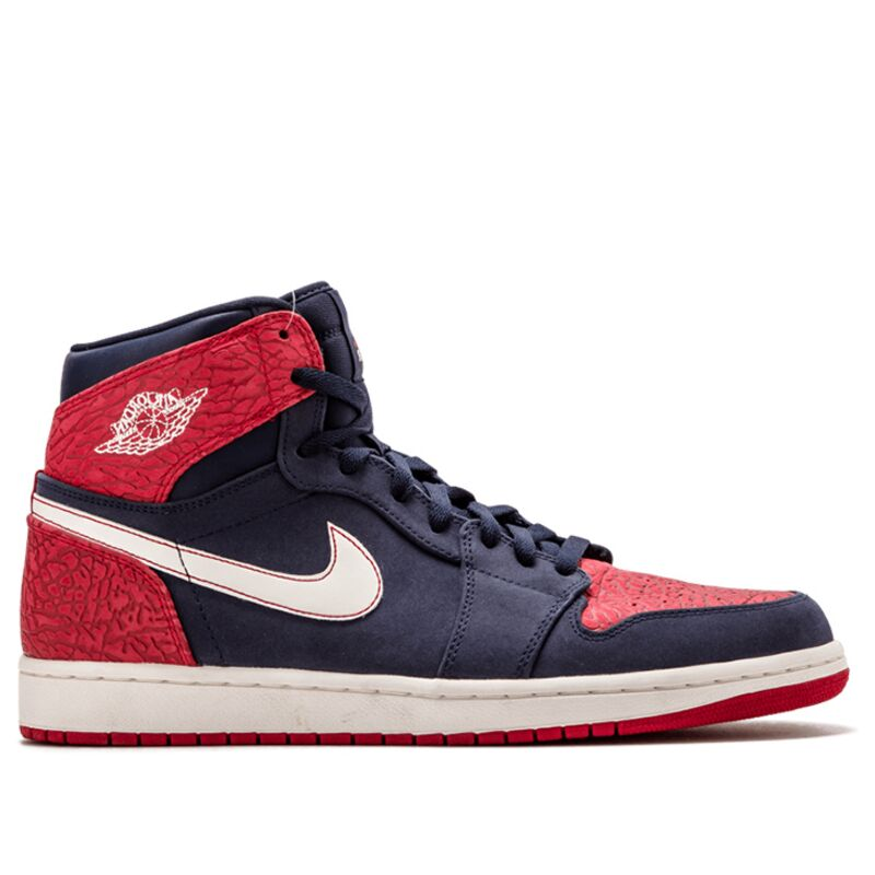 Air Jordan 1 Retro High 'Election Day' Obsidian/Gym Red-Sail 籃球鞋/運動鞋 (332550-401) 海外預訂