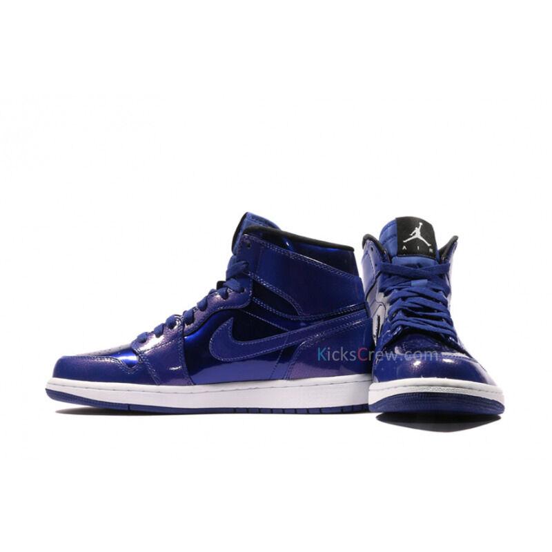 Air Jordan 1 Retro High Deep Royal Patent 籃球鞋/運動鞋 (332550-420) 海外預訂