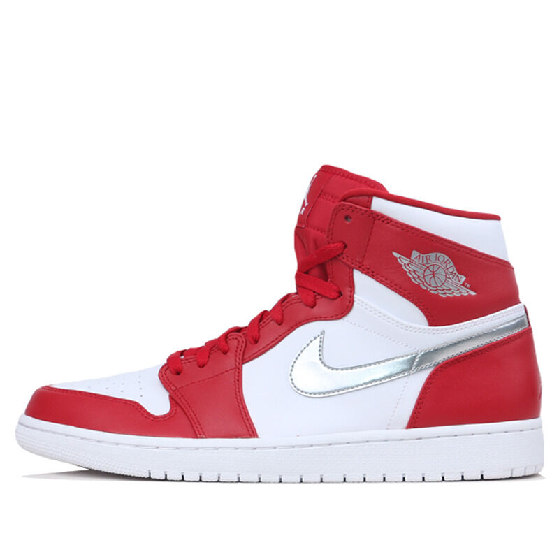 Air Jordan 1 Retro High Gym Red Metallic Silver 籃球鞋/運動鞋 (332550-602) 海外預訂