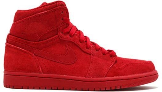 Air Jordan 1 Retro High 'Red Suede' Gym Red/Gym Red 籃球鞋/運動鞋 (332550-603) 海外預訂