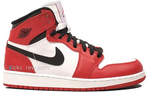 Air Jordan 1 Retro High GS OG Retro - Chicago 籃球鞋/運動鞋 (332558-163) 海外預訂