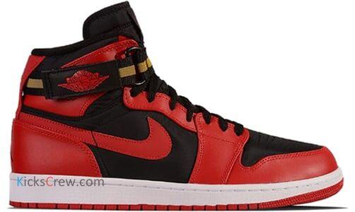 Air Jordan 1 High Strap Black Gym Red 籃球鞋/運動鞋 (342132-002) 海外預訂