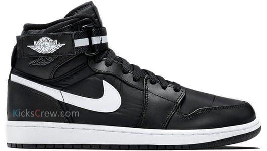 Air Jordan 1 High Strap Black white 籃球鞋/運動鞋 (342132-003) 海外預訂