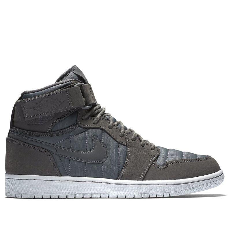 Air Jordan 1 High STRAP DARK GREY/DARK GREY-PURE PLATINUM 籃球鞋/運動鞋 (342132-005) 海外預訂