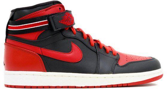 Air Jordan 1 High Strap 'Bred' Black/Varsity Red-White 籃球鞋/運動鞋 (342132-061) 海外預訂