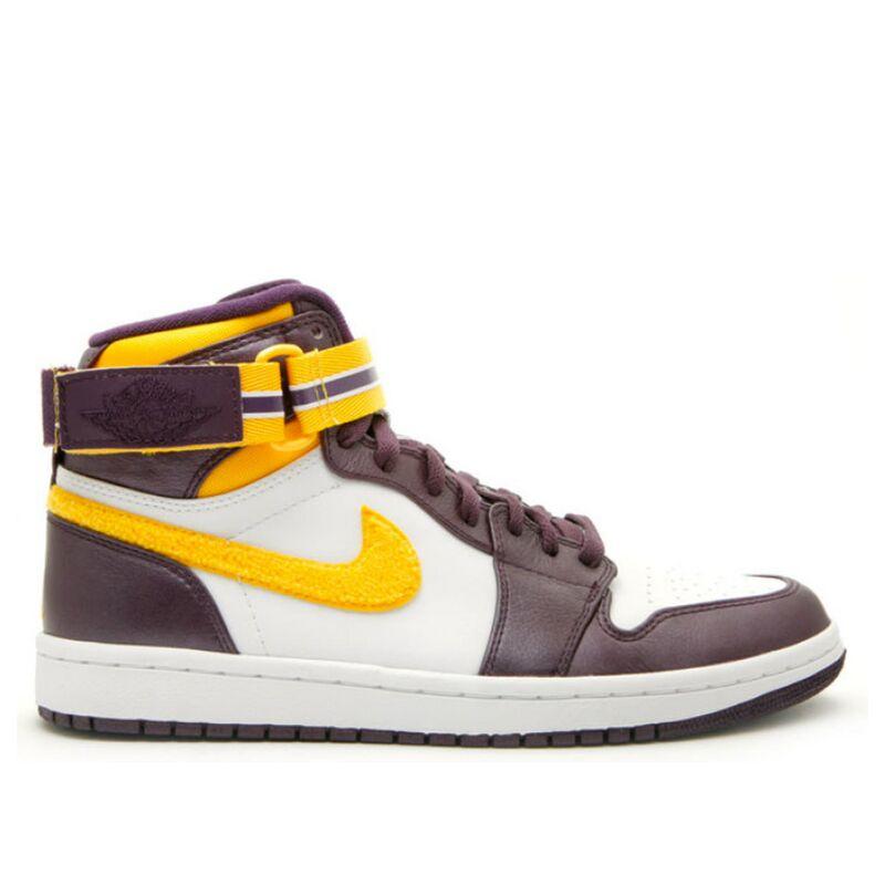 Air Jordan 1 High Strap 'Grand Purple' Grand Purple/Varsity Maize-Wht 籃球鞋/運動鞋 (342132-571) 海外預訂