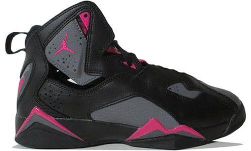 Jordan True Flight GG Black Deadly Pink 籃球鞋/運動鞋 (342774-009) 海外預訂