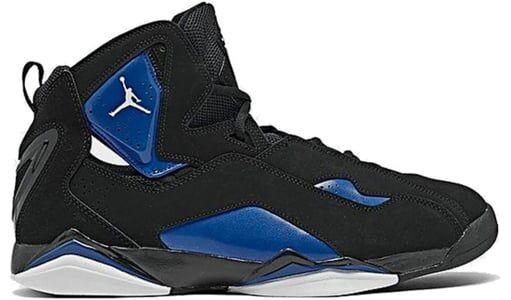 Jordan True Flight 'Black Game Royal' Black/White/Game Royal 籃球鞋/運動鞋 (342964-042) 海外預訂
