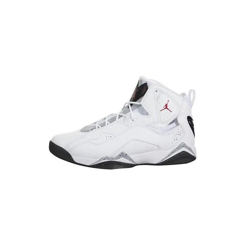Jordan True Flight 'White Cement' White/Black-Red 籃球鞋/運動鞋 (342964-104) 海外預訂