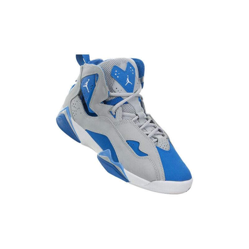 Jordan True Flight BG 'Blue Spark' Wolf Grey/White/Blue Spark/White 籃球鞋/運動鞋 (343795-005) 海外預訂