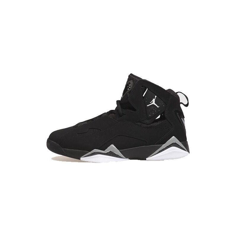 Jordan True Flight GS Black/White-Metallic Silver 籃球鞋/運動鞋 (343795-010) 海外預訂
