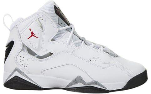 Jordan True Flight'White' GS white/gym red-black-wolf grey 籃球鞋/運動鞋 (343795-121) 海外預訂