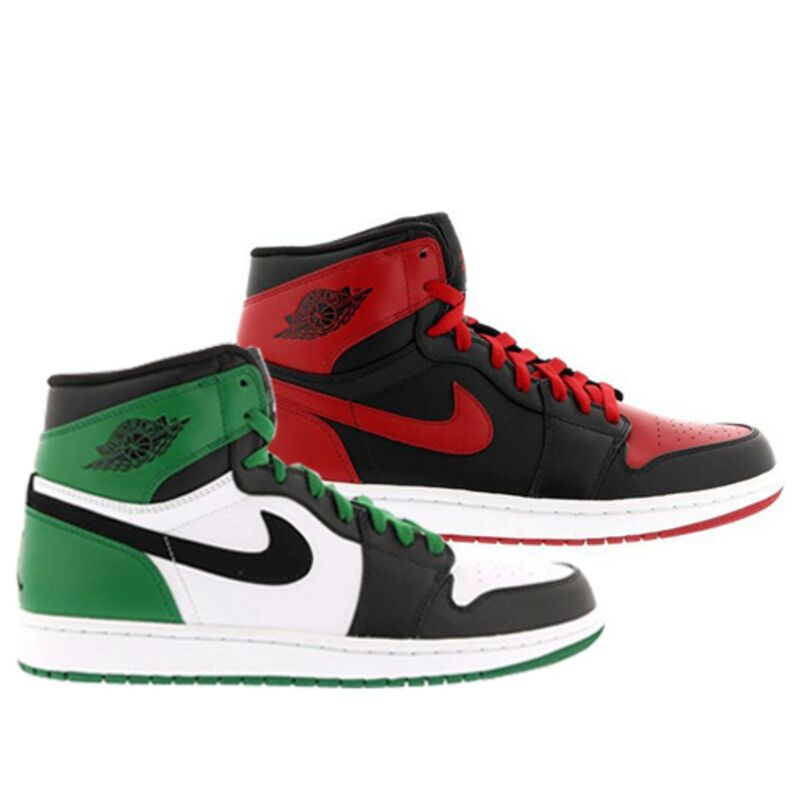Air Jordan 1 Retro High DMP 'Bulls Celtics Pack' Multi-Color/Multi-Color 籃球鞋/運動鞋 (371381-991) 海外預訂