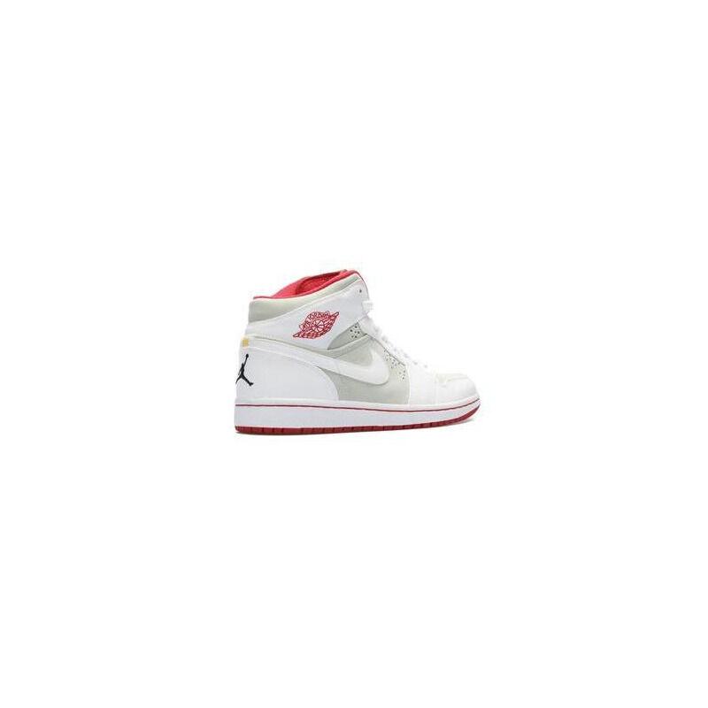 Air Jordan 1 Retro 'Hare' 2009 Light Silver/White-True Red 籃球鞋/運動鞋 (374454-011) 海外預訂