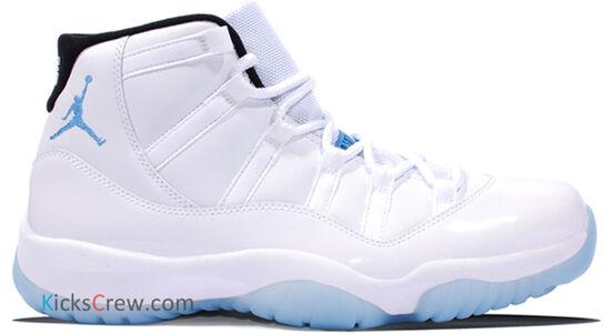 Air Jordan 11 Retro Columbia Legend Blue 籃球鞋/運動鞋 (378037-117) 海外預訂