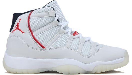 Air Jordan 11 Retro GS Platinum Tint 籃球鞋/運動鞋 (378038-016) 海外預訂