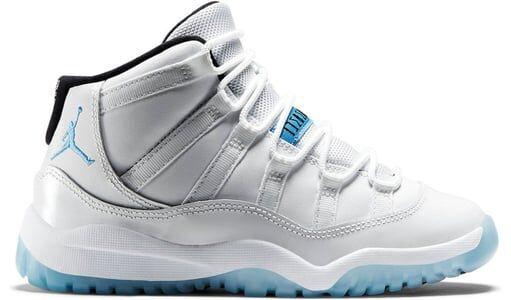 Air Jordan 11 Retro PS 'Legend Blue' White/Legend Blue 籃球鞋/運動鞋 (378039-117)