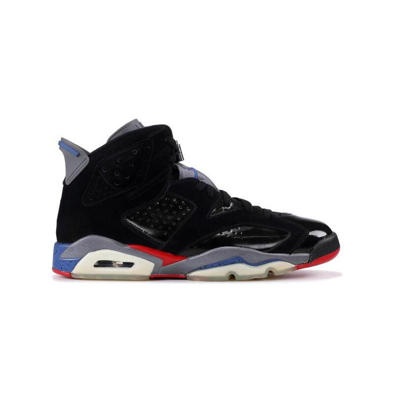 Air Jordan 6 Retro 'Pistons' Black/Varsity Red-True Blue-Light Graphite 籃球鞋/運動鞋 (384664-001) 海外預訂