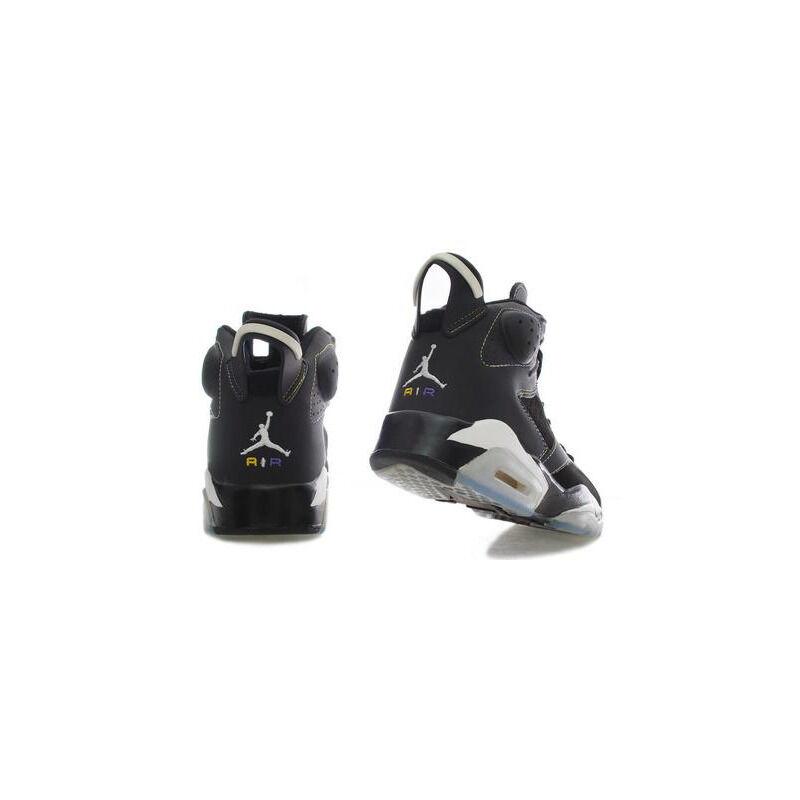 Air Jordan 6 Retro 'Lakers' Black/Varsity Purple-White-Varsity Maize 籃球鞋/運動鞋 (384664-002) 海外預訂