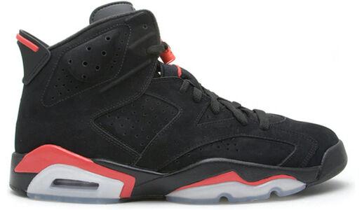 Air Jordan 6 Retro Infrared Pack 'Black' Black/Infrared 籃球鞋/運動鞋 (384664-003) 海外預訂