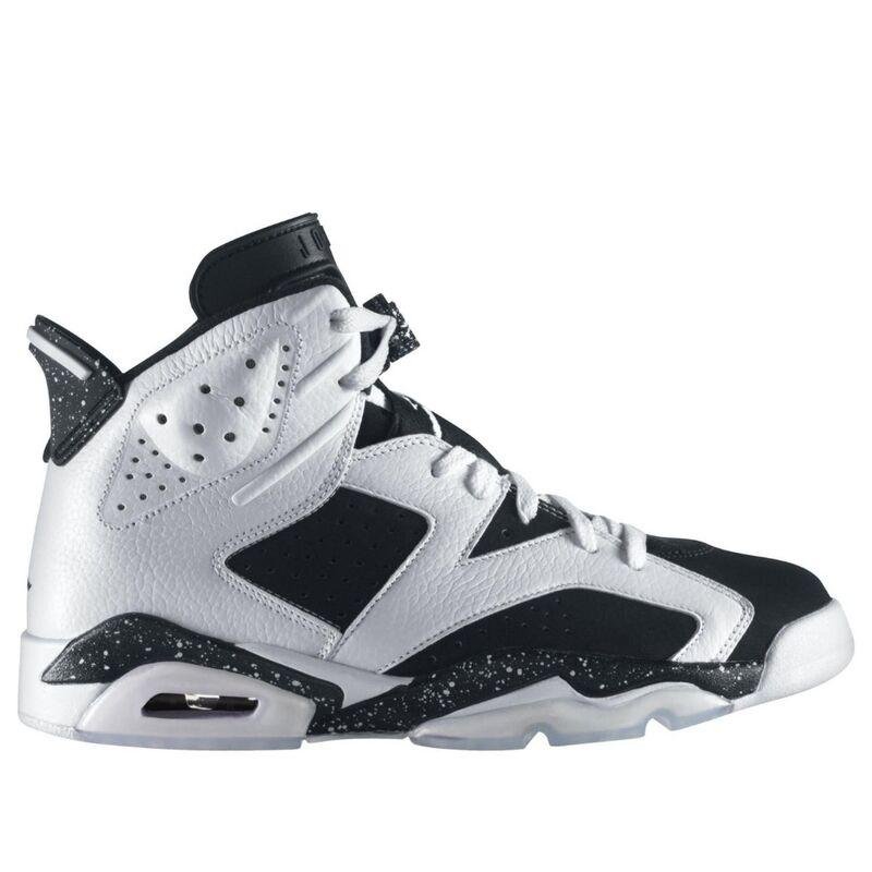 Air Jordan 6 Retro 'Oreo' White/Black 籃球鞋/運動鞋 (384664-101) 海外預訂