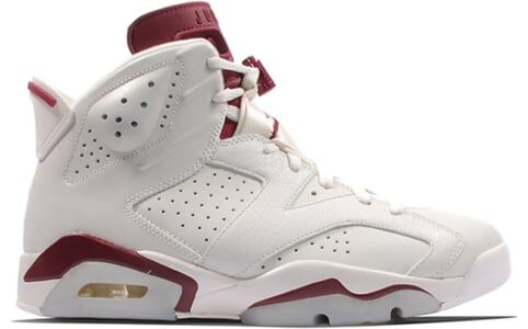 Air Jordan 6 Retro Maroon 籃球鞋/運動鞋 (384664-116) 海外預訂
