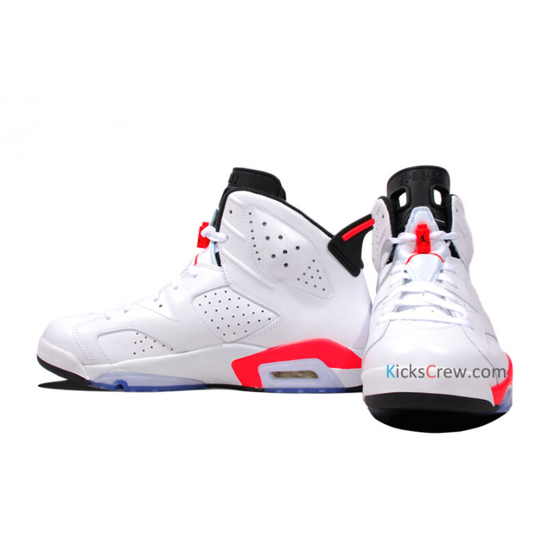 Air Jordan 6 Retro White Infrared 籃球鞋/運動鞋 (384664-123) 海外預訂