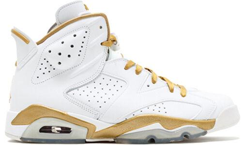 Air Jordan 6 Retro 'GMP' White/Metallic Gold 籃球鞋/運動鞋 (384664-135) 海外預訂