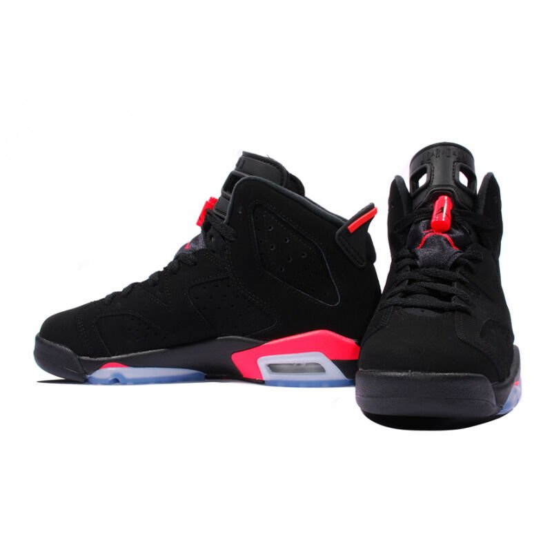 Air Jordan 6 Retro BG Black Infrared 籃球鞋/運動鞋 (384665-023) 海外預訂