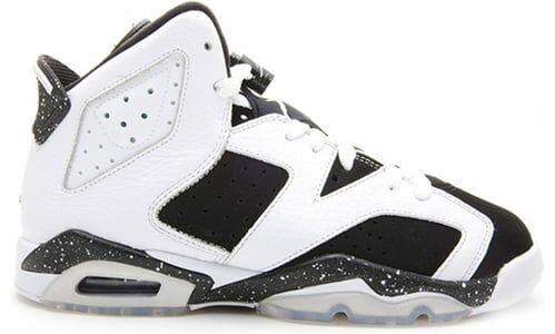 Air Jordan 6 Retro GS 'Oreo' White/Black 籃球鞋/運動鞋 (384665-101) 海外預訂