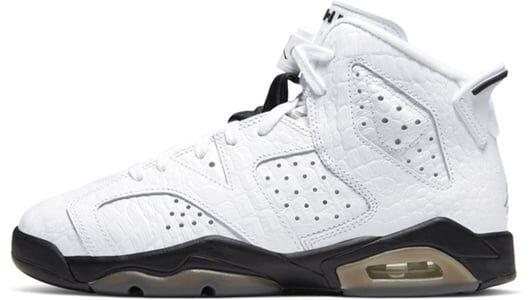 Air Jordan 6 Retro GS Alligator 籃球鞋/運動鞋 (384665-110) 海外預訂