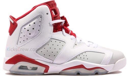 Air Jordan 6 Retro BG Alternate 籃球鞋/運動鞋 (384665-113) 海外預訂