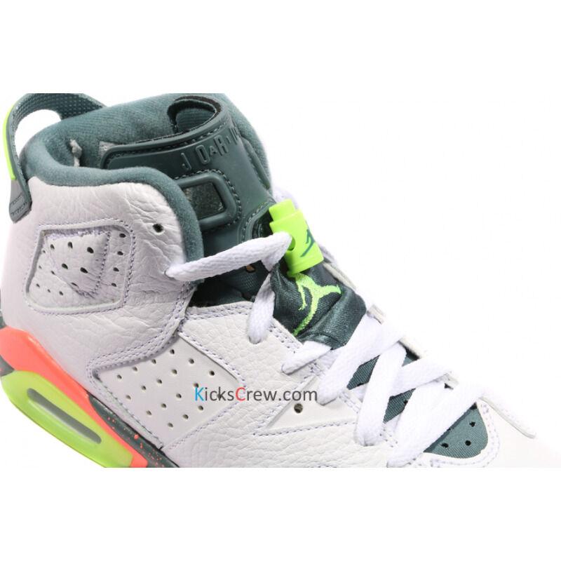 Air Jordan 6 Retro BG Ghost Green 籃球鞋/運動鞋 (384665-114) 海外預訂
