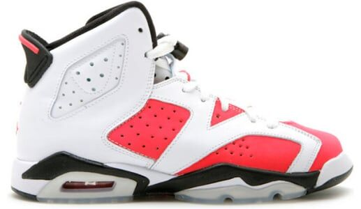 Air Jordan 6 Retro'Coral Rose' GS White/Coral Rose-Black 籃球鞋/運動鞋 (384665-161) 海外預訂