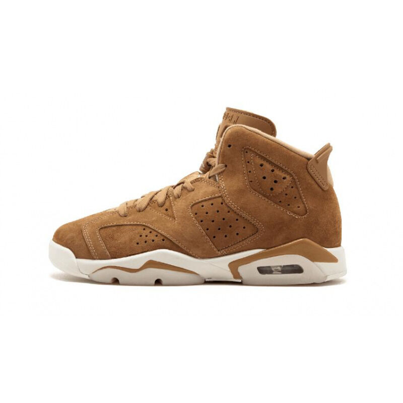 Air Jordan 6 RETRO BG GOLDEN HARVEST/GOLDEN HARVEST-SAIL 籃球鞋/運動鞋 (384665-705) 海外預訂