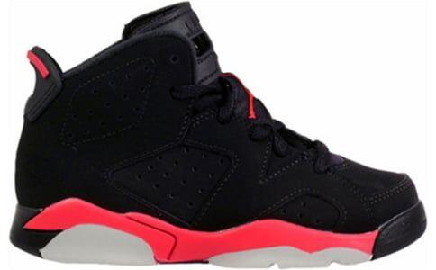 Air Jordan 6 Retro BP 'Infrared' 2014 Black/Infrared 23-Black 籃球鞋/運動鞋 (384666-023) 海外預訂