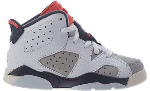 Air Jordan 6 Retro PS 'Tinker' White/Red-Grey 籃球鞋/運動鞋 (384666-104) 海外預訂