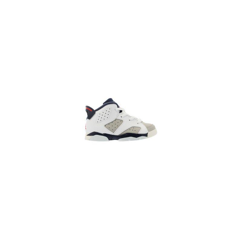 Air Jordan 6 Retro TD 'Tinker' White/Red-Grey 籃球鞋/運動鞋 (384667-104) 海外預訂