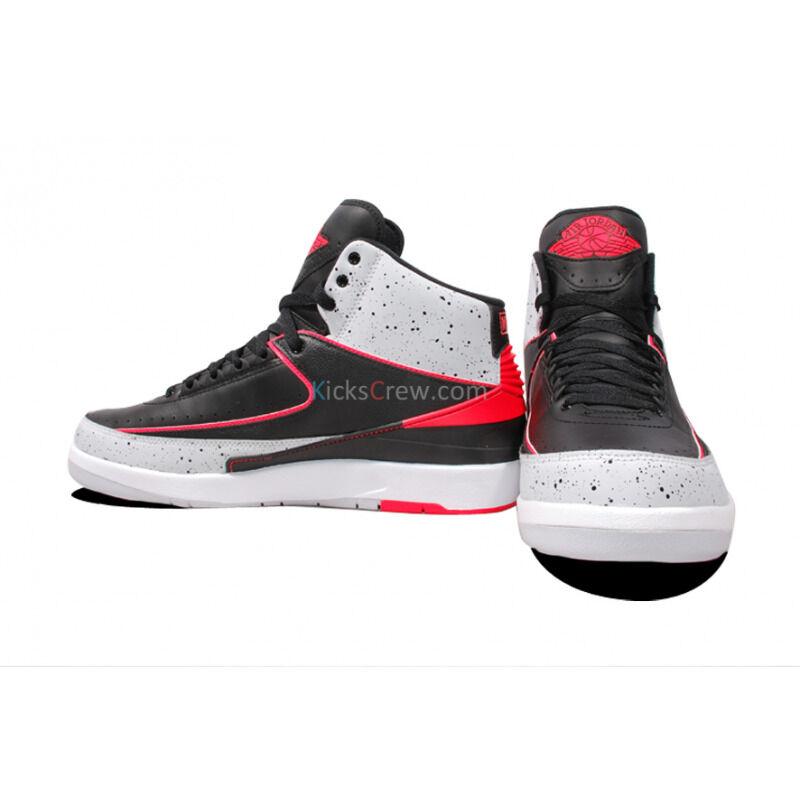 Air Jordan 2 Retro Black Infrared 籃球鞋/運動鞋 (385475-023) 海外預訂