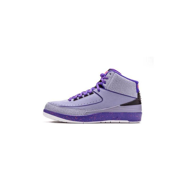Air Jordan 2 Retro 'Iron Purple' Iron Purple/Infrared 23-Dark Concord 籃球鞋/運動鞋 (385475-553) 海外預訂