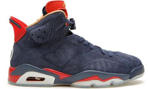 Air Jordan 6 DB 'Doernbecher' Midnight Navy/White-Varsity Red-Metallic Gold 籃球鞋/運動鞋 (392789-401) 海外預訂