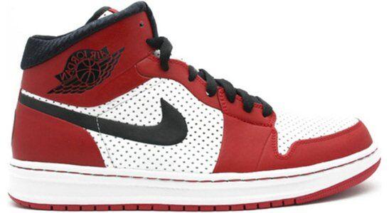Air Jordan 1 Alpha 'Chicago' White/Black-Varsity Red 籃球鞋/運動鞋 (392813-101) 海外預訂