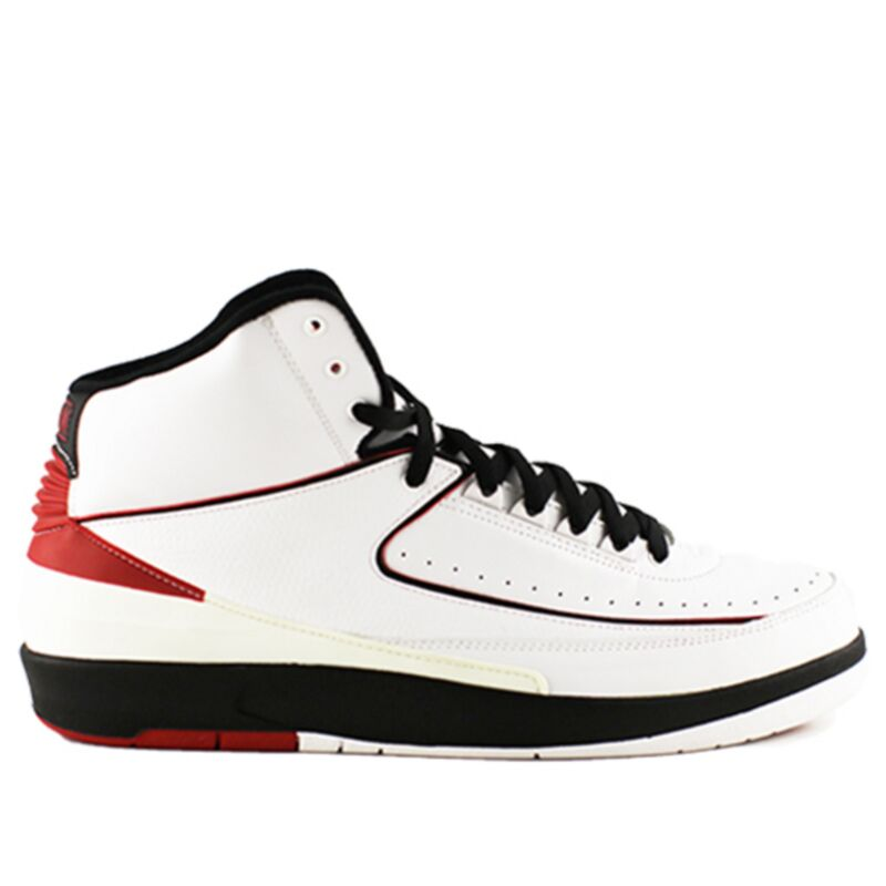 Air Jordan 2 Retro QF 'Varsity Red' 2010 White/Black-Varsity Red 籃球鞋/運動鞋 (395709-101) 海外預訂
