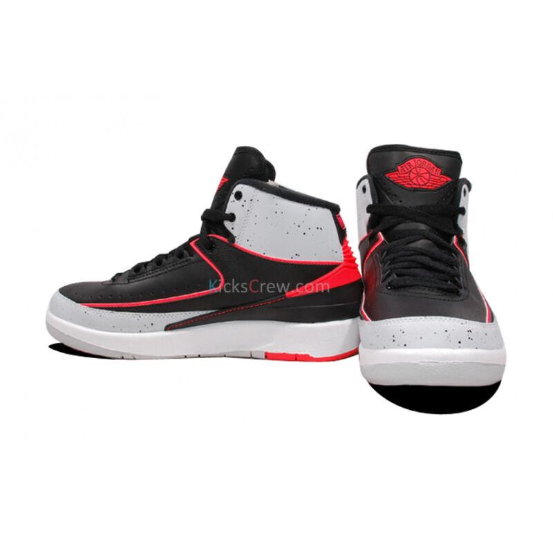 Air Jordan 2 Retro BG Black Infrared Platinum 籃球鞋/運動鞋 (395718-023) 海外預訂