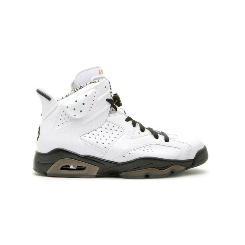 Air Jordan 6 Retro Premium 'Motorsports' White/Black 籃球鞋/運動鞋 (395866-101) 海外預訂
