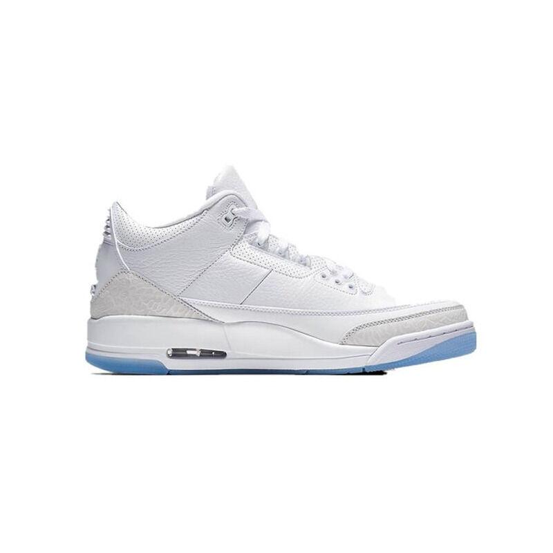 Air Jordan 3 Retro GS Pure White 籃球鞋/運動鞋 (398614-111) 海外預訂