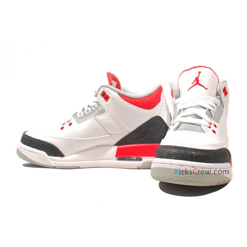 Air Jordan 3 Retro GS Fire Red 籃球鞋/運動鞋 (398614-120) 海外預訂