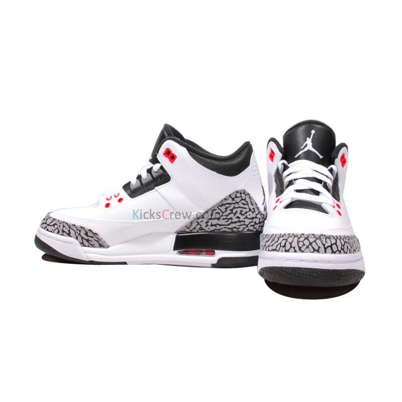 Air Jordan 3 Retro BG Infrared 23 籃球鞋/運動鞋 (398614-123) 海外預訂